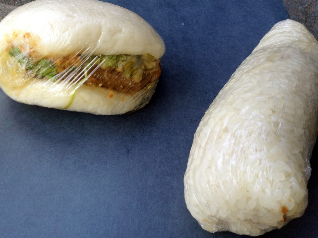 Gua Bao (Pork Sandwich Bun) & Fan Tuan (Rice Roll) from Si Hai (© 2012 The Offalo)