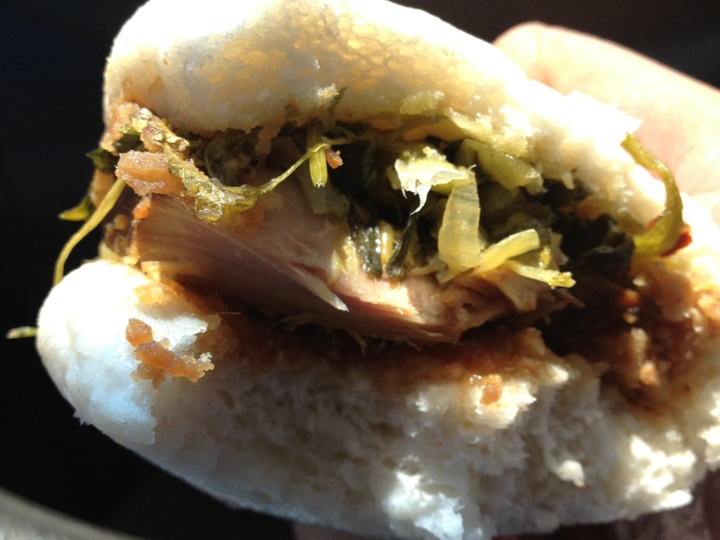 Gua Bao (Pork Sandwich Bun) from Si Hai (© 2012 The Offalo)