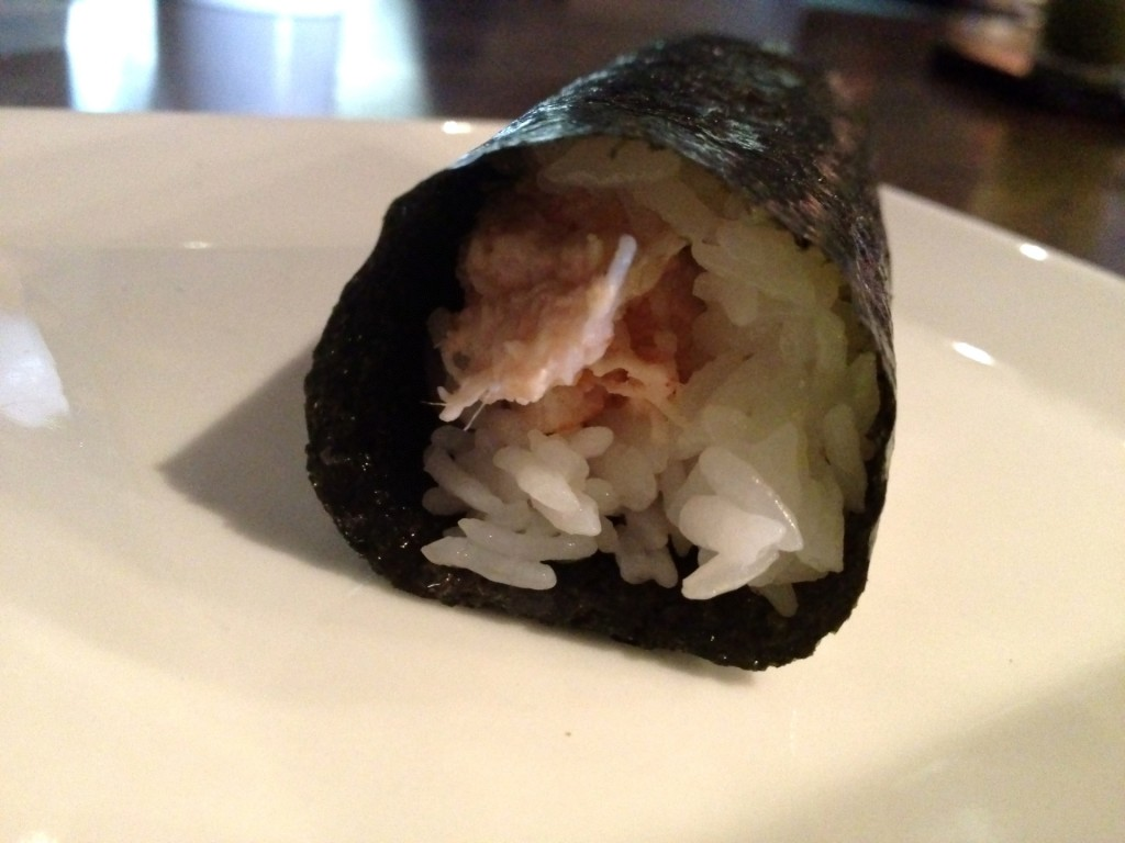 Lobster Hand Roll at SUGARFISH (© 2012 The Offalo)