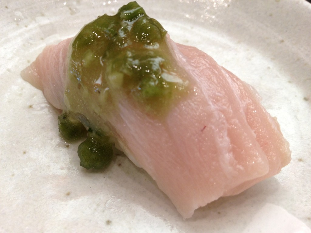 Bintoro (Albacore Belly) at Yojisan (© 2012 The Offalo)
