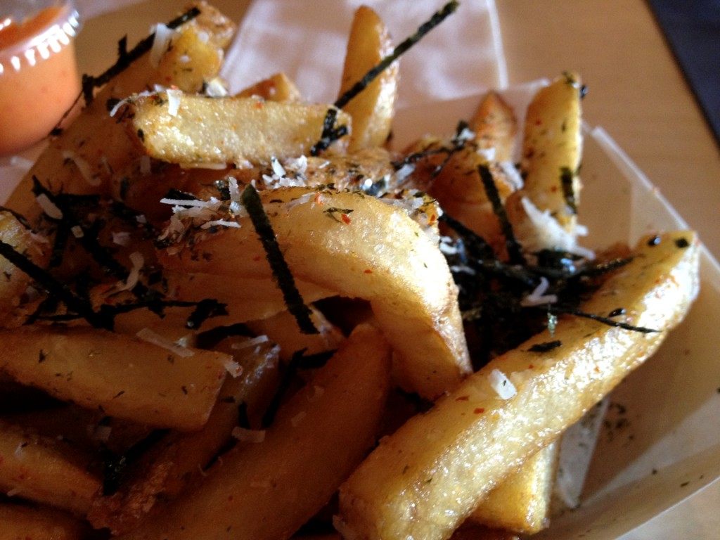 Shichimi & Garlic Parmesan Fries at Humble Potato (© 2012 The Offalo)