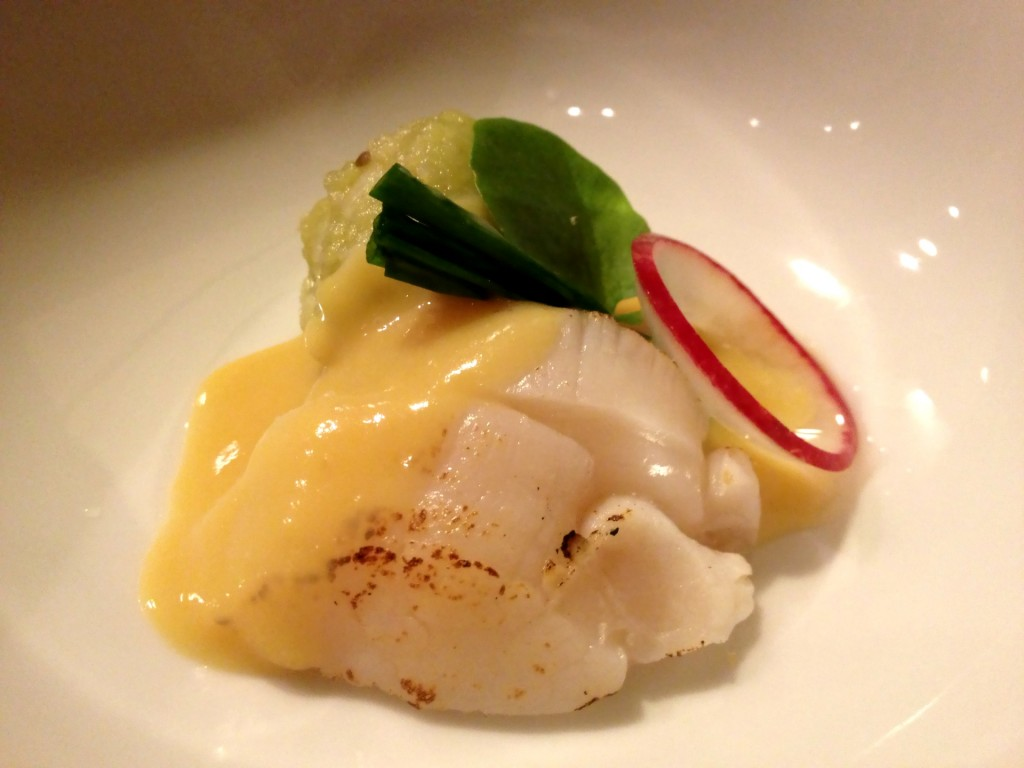 Seared Hotate (Scallop) Sashimi (© 2013 The Offalo)