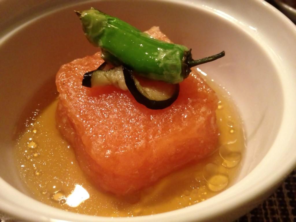 Agedashi Tomato