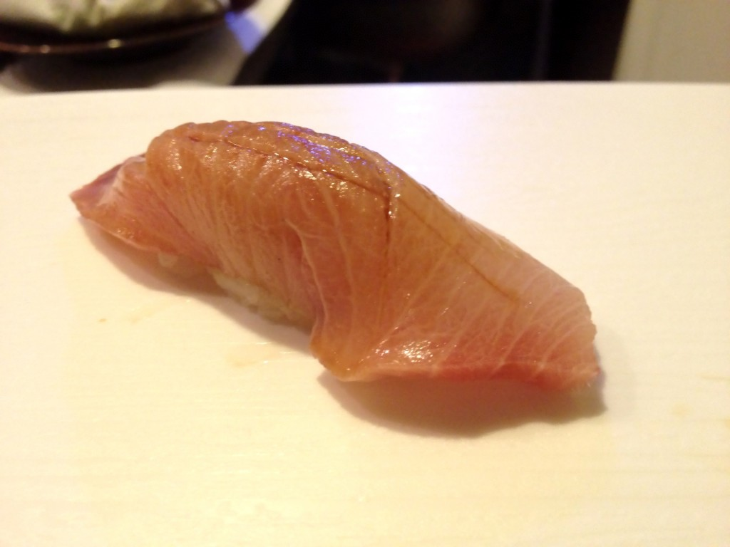 Inada (Baby Wild Yellowtail) Nigiri (© 2013 The Offalo)
