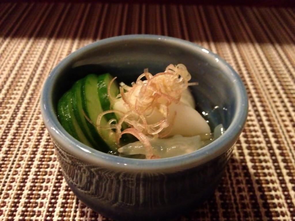 Kurage (Jellyfish) Sunomono (© 2013 The Offalo)