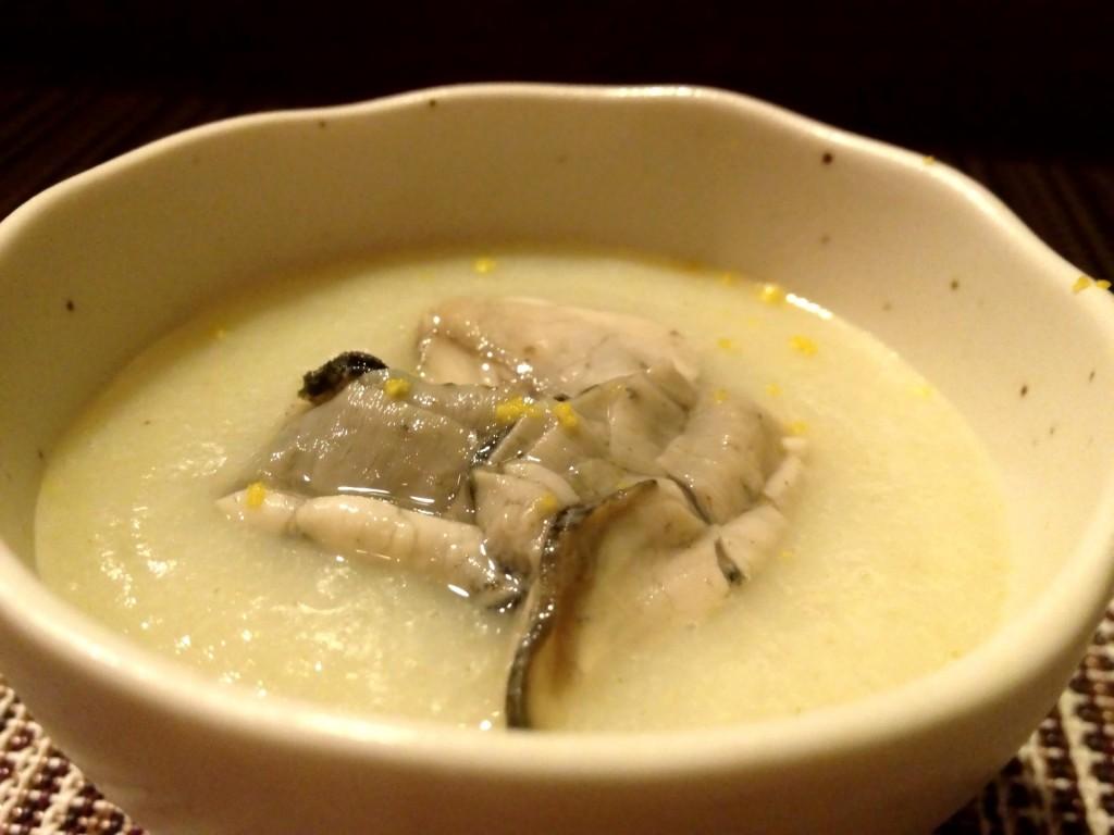 Cold Potato and Napa Cabbage Soup (© 2013 The Offalo)