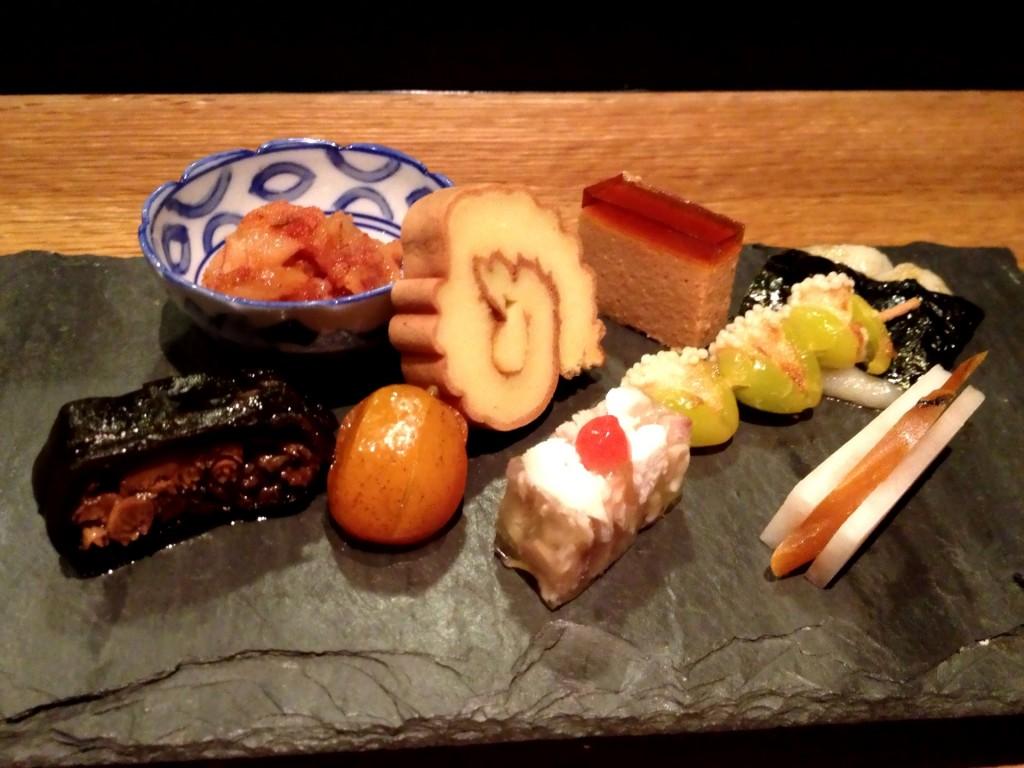 Hassun (Seasonal Tastes) @ Sushi Taro (© 2013 The Offalo)