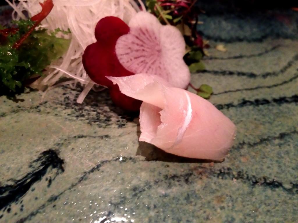 Mana-Gatsuo (Japanese Pompano) @ Sushi Taro (© 2013 The Offalo)