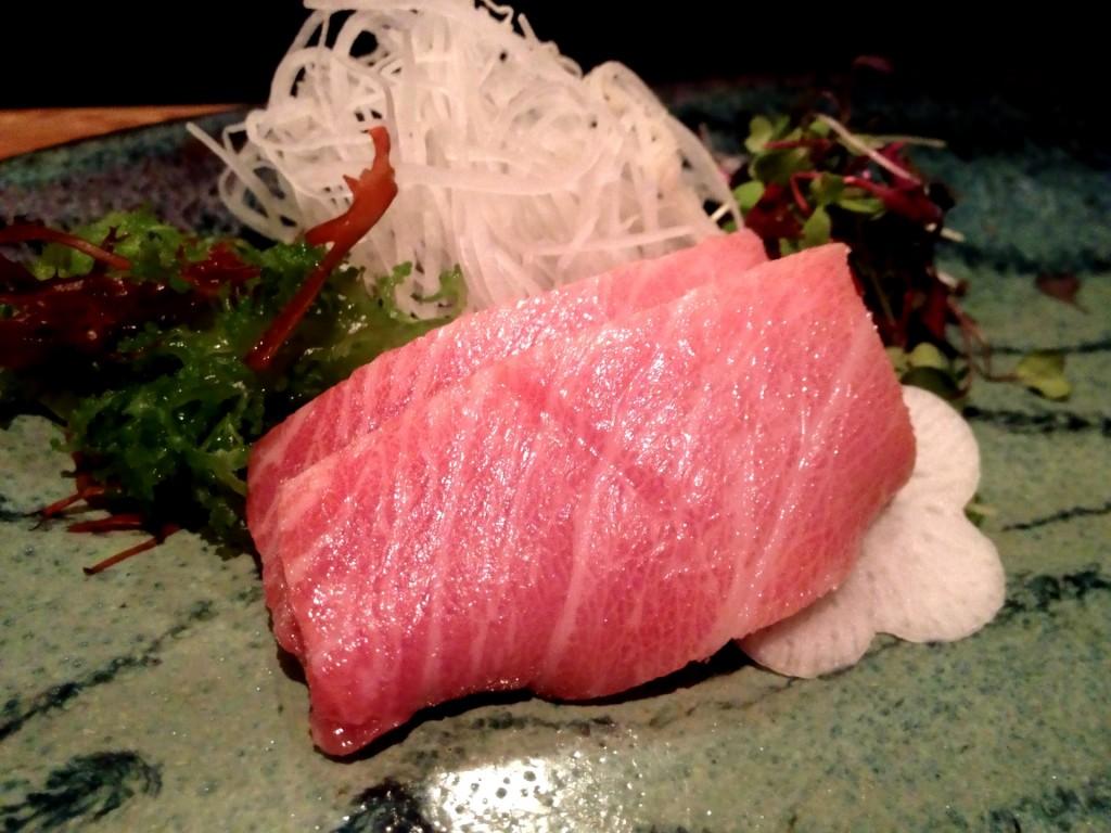 Hon Maguro Toro (Fatty Bluefin Tuna) @ Sushi Taro (© 2013 The Offalo)