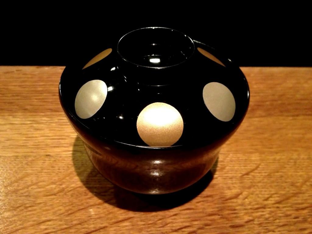 Black Lidded Lacquer Bowl @ Sushi Taro (© 2013 The Offalo)