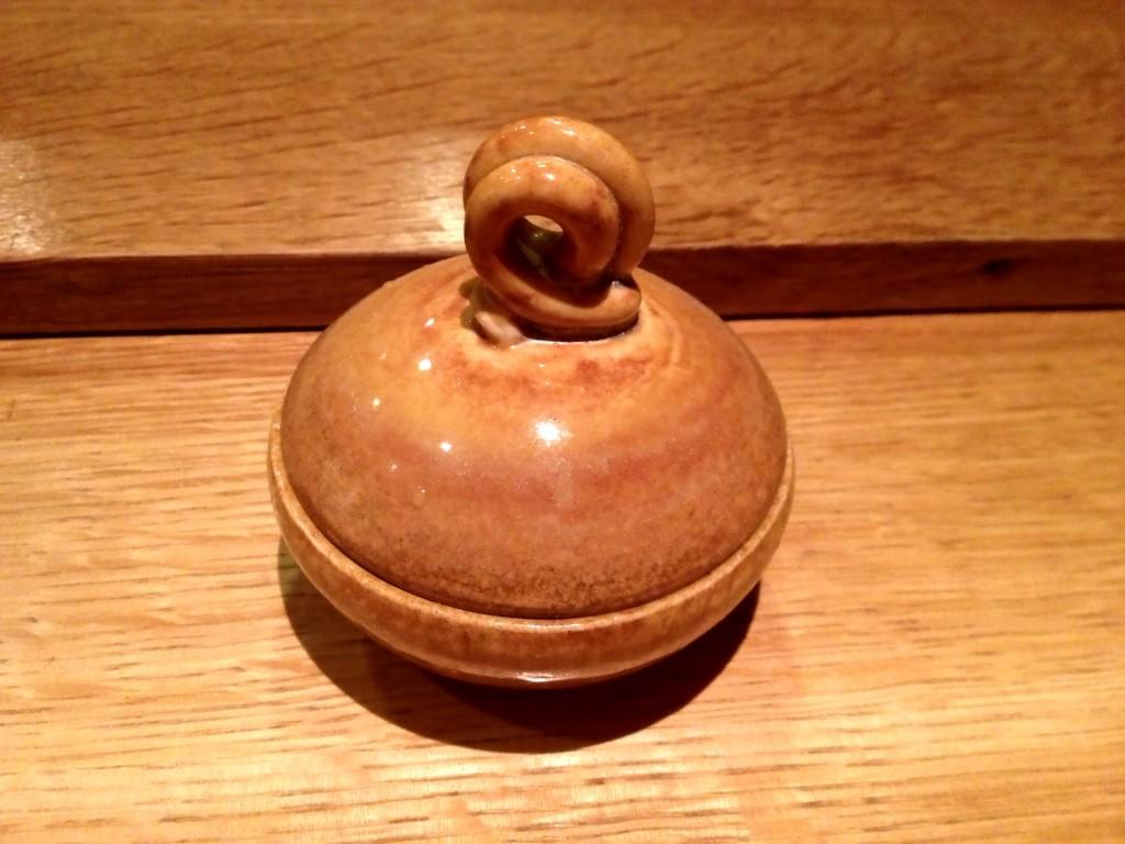 Small Lidded Clay Bowl @ Sushi Taro (© 2013 The Offalo)