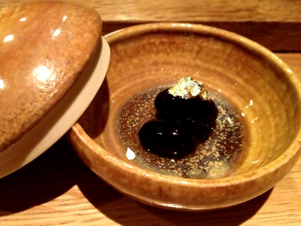 Tanba no Kuromame (Black Soy Beans) @ Sushi Taro (© 2013 The Offalo)