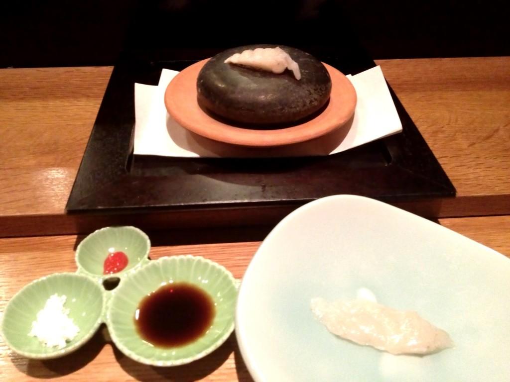 Tora-fugu (Pufferfish or Blowfish) @ Sushi Taro (© 2013 The Offalo)