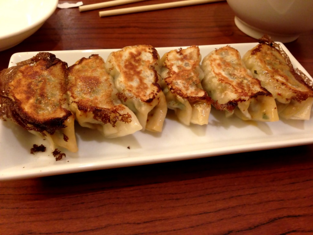 Pork Gyoza @ Ramen Hayatemaru (© 2013 The Offalo)