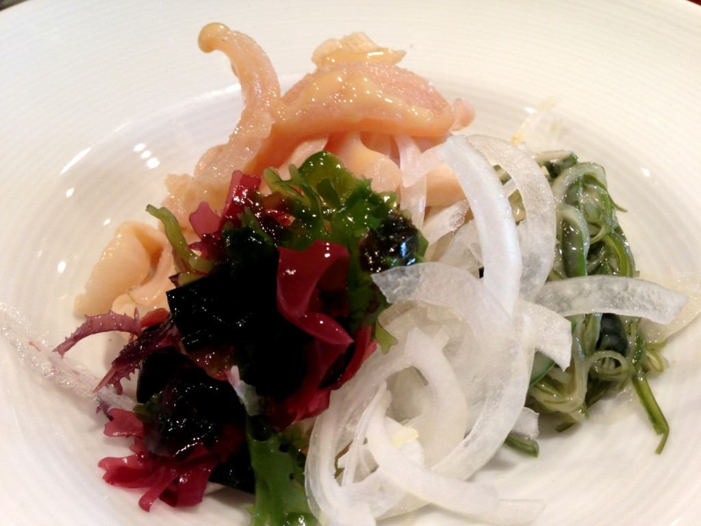 Aoyagi Nutaae (Surf Clam Salad) @ Kiriko (© 2013 The Offalo)