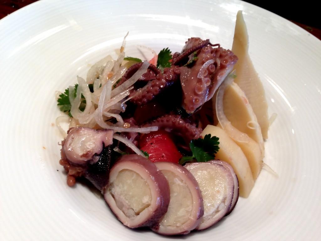 Iidako (Baby Octopus) Ceviche @ Kiriko (© 2013 The Offalo)
