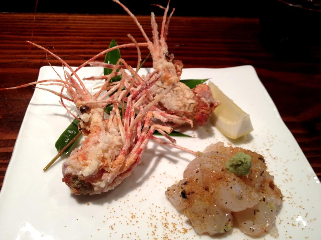 Amaebi (Sweet Shrimp) Tartare (@ Kiriko (© 2013 The Offalo)