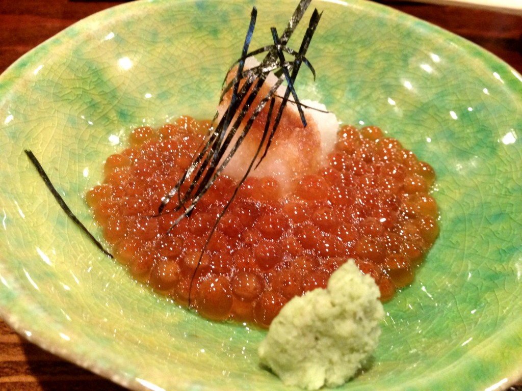 Fresh Ikura (Salmon Roe) @ Kiriko (© 2013 The Offalo)