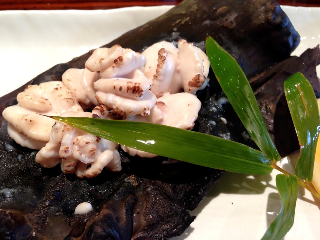 Shirako Yaki (Grilled Milt) @ Kiriko (© 2013 The Offalo)