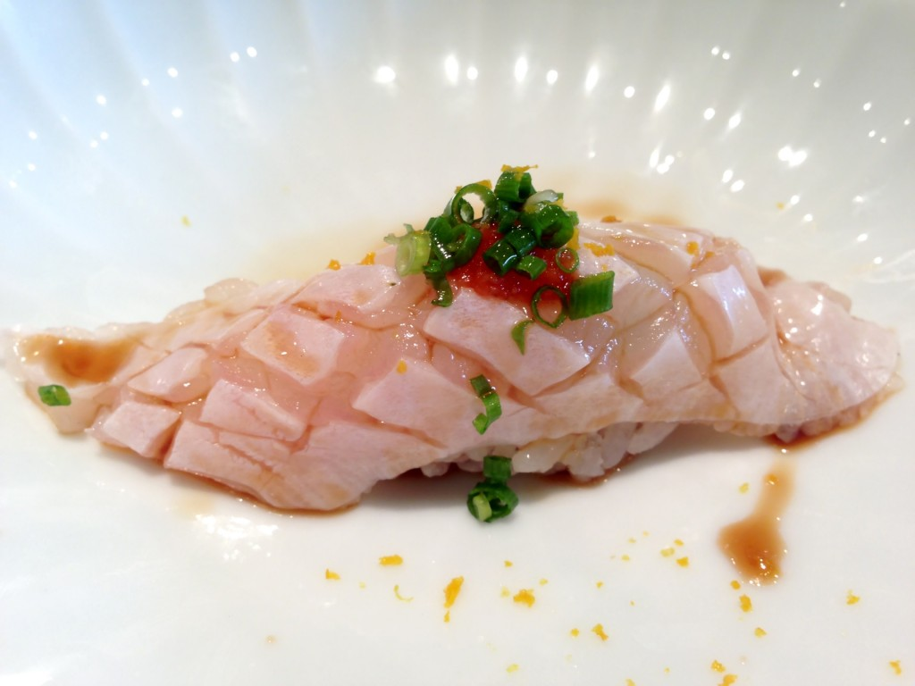 Engawa (Halibut Fin) @ Kiriko (© 2013 The Offalo)