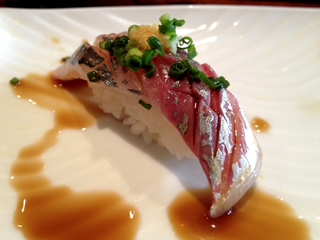 Aji (Horse Mackerel) @ Kiriko (© 2013 The Offalo)