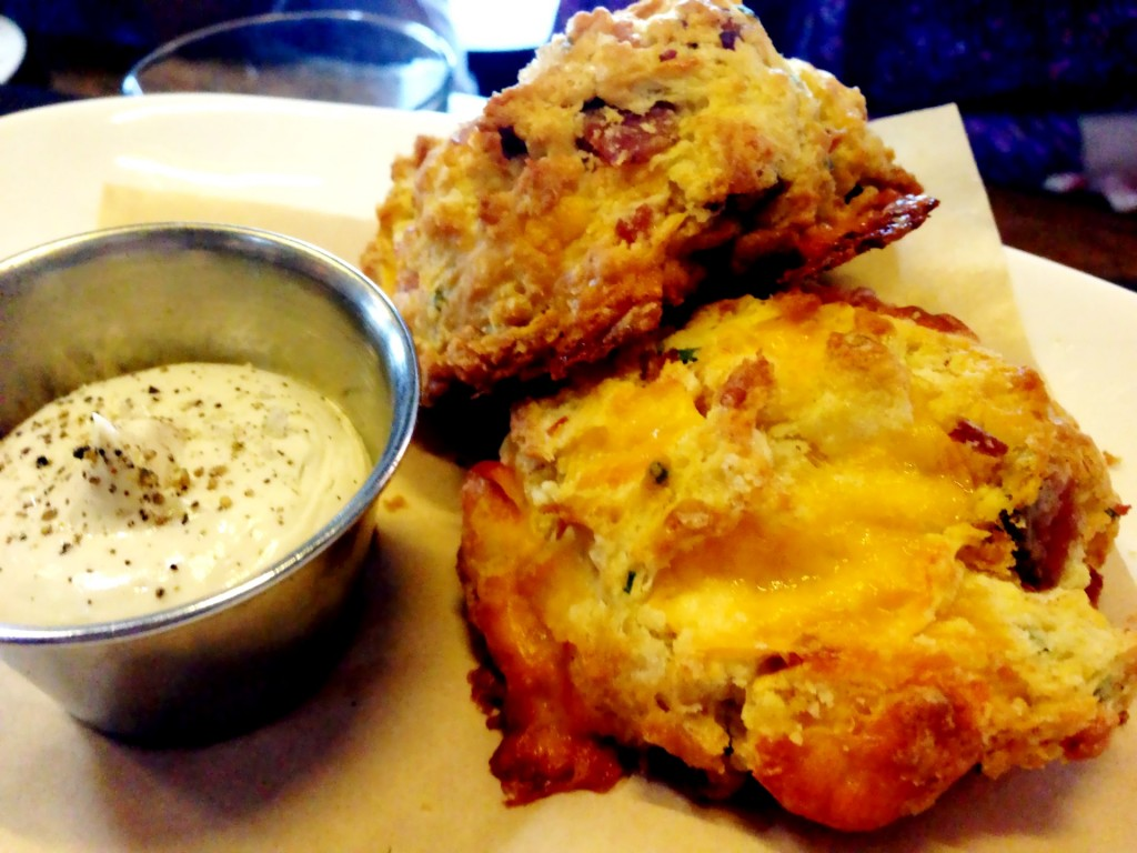 Bacon Cheddar Buttermilk Biscuits @ MB Post (© 2013 The Offalo)