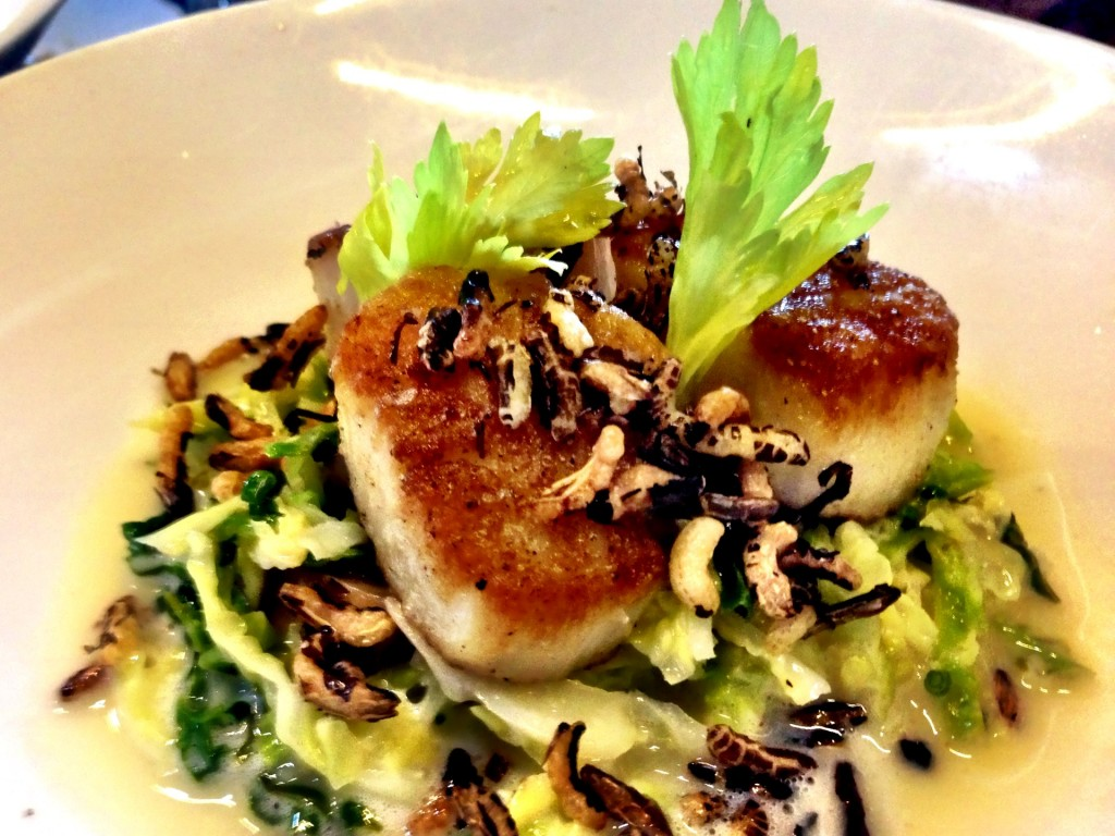 Seared Diver Scallops @ MB Post (© 2013 The Offalo)
