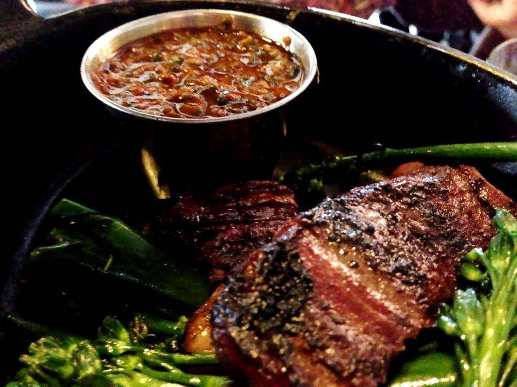 White Oak Grilled Skirt Steak @ MB Post (© 2013 The Offalo)