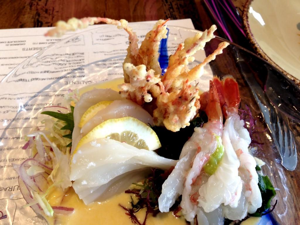 Jumbo Scallop & Sweet Shrimp Ceviche @ Paiche (© 2013 The Offalo)