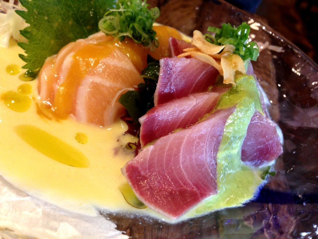 Salmon & Yellowtail Ceviche @ Paiche (© 2013 The Offalo)