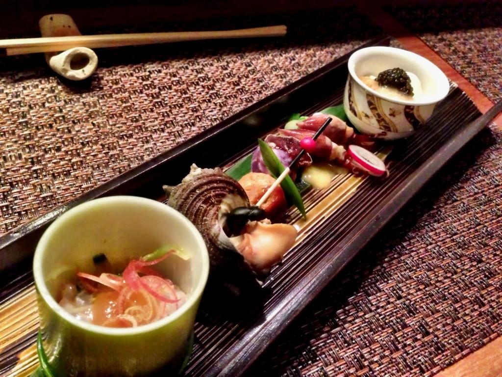 Zensai (Assorted Hors d'Oeuvres) @ Shunji (© 2013 The Offalo)
