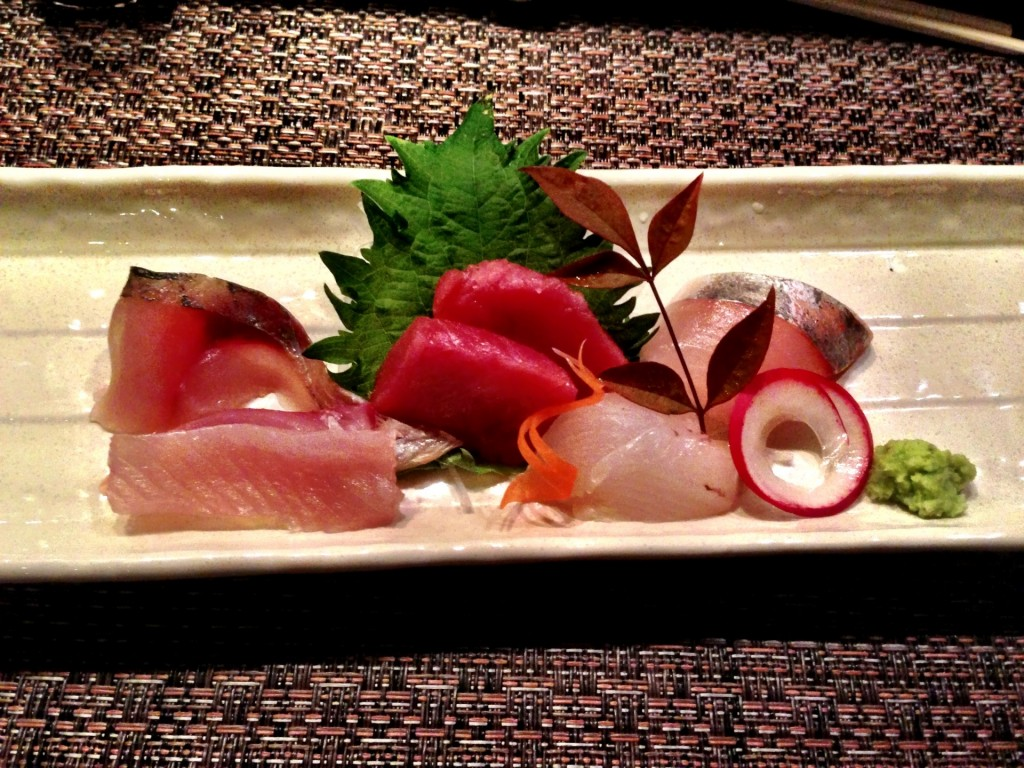 Assorted Sashimi @ Shunji (© 2013 The Offalo)
