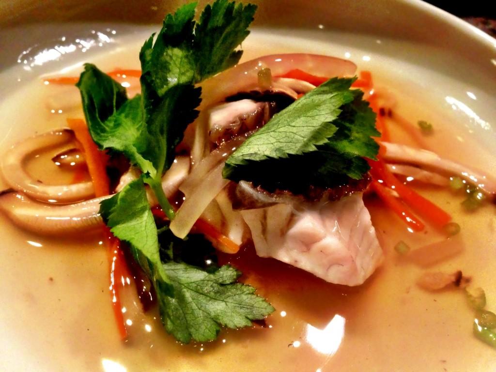 Tai (Red Sea Bream) Soup @ Shunji (© 2013 The Offalo)
