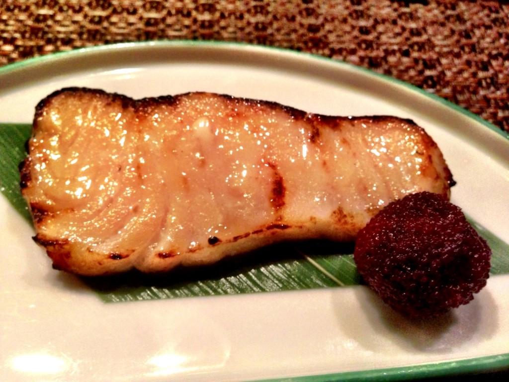 Mero Yaki (Grilled Chilean Sea Bass) @ Shunji (© 2013 The Offalo)