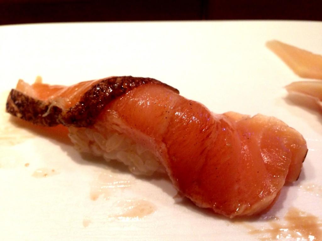 Marinated Salmon @ Shunji (© 2013 The Offalo)