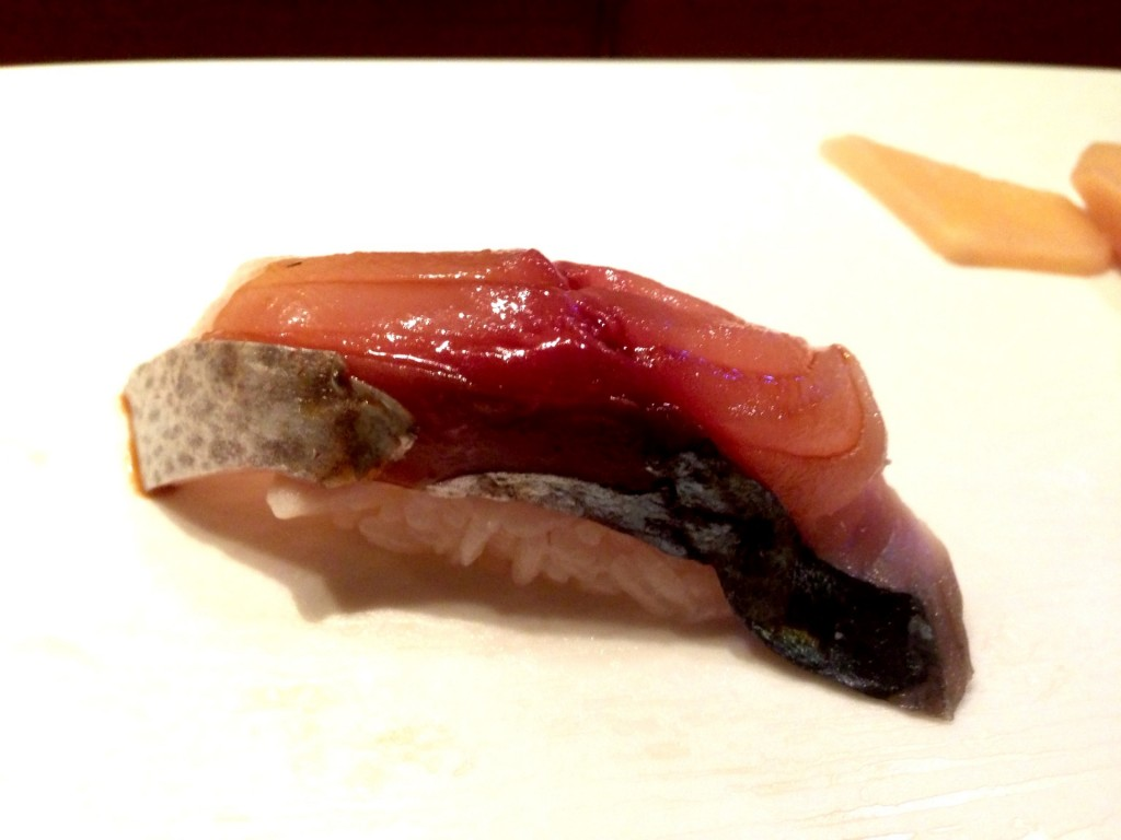 Saba (Mackerel) @ Shunji (© 2013 The Offalo)
