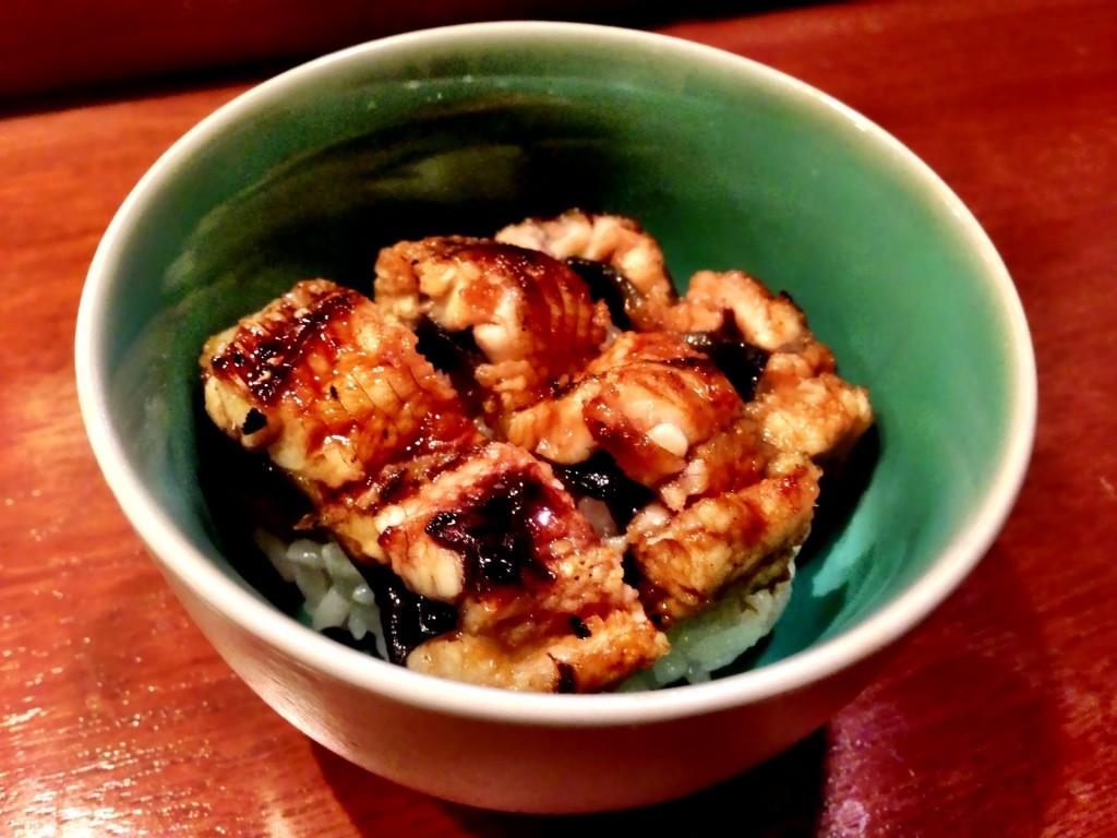 Unadon (Live Freshwater Eel Rice Bowl) @ Shunji (© 2013 The Offalo)
