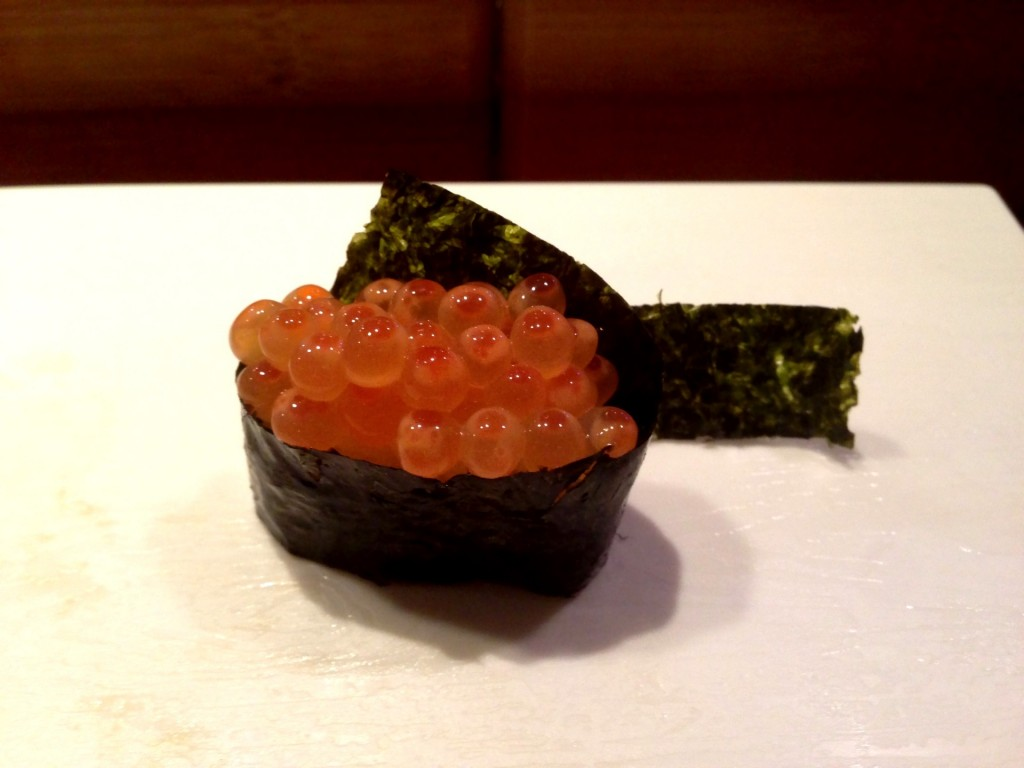 Ikura (Salmon Roe) @ Shunji (© 2013 The Offalo)