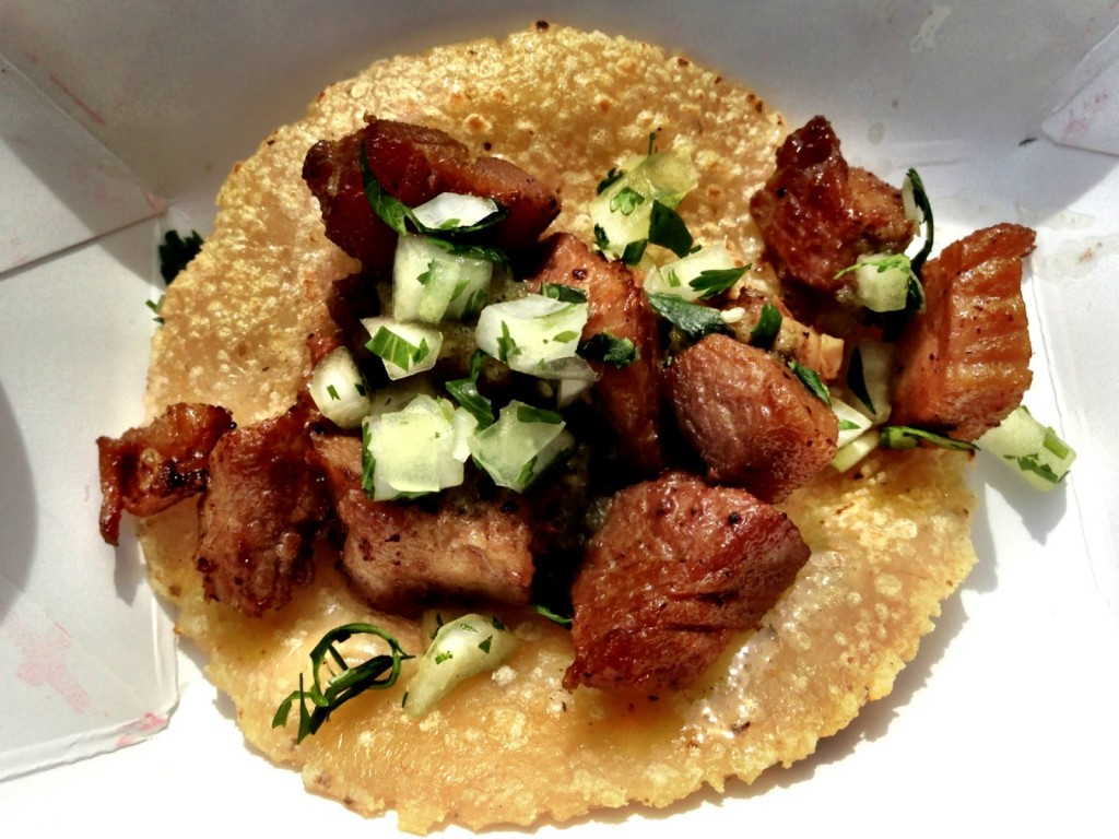 Spirit House's Chashu Taco (© 2013 The Offalo)