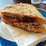 Pollo Panino: Rotisserie Chicken, Pancetta, Tomato, Rosemary Mayo