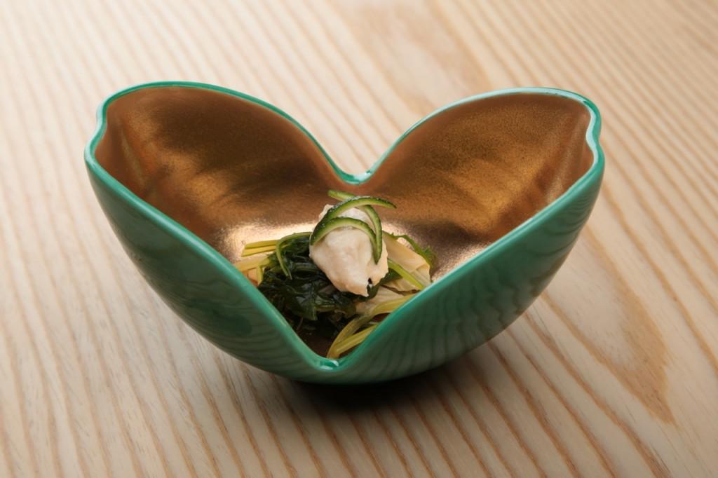 Appetizer at Sushi Tsujita