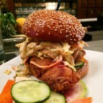 Crispy Chicken Sandwich at The Misfit