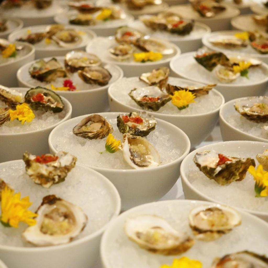 Beausoleil, Kumamoto, Kusshi Oysters on the Half-Shell w/Bespoke Mignonette