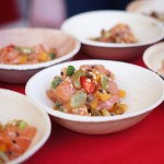 Sweetfin Poke's Smoked Salmon Tartare at The Food Event