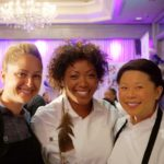 Brooke Williamson, Nyesha Arrington, Mei Lin at Women Chefs and Restaurateurs
